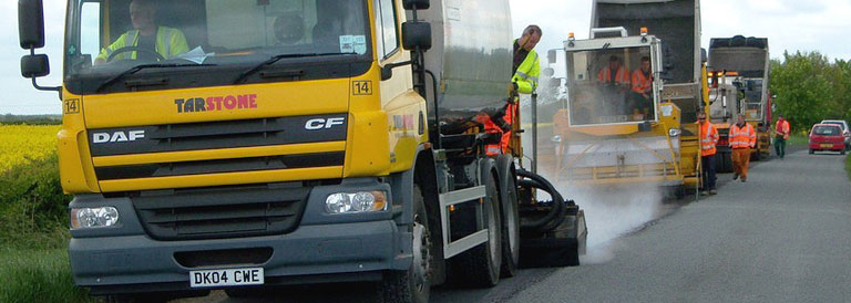 bitumen cutback surface dressing pavement